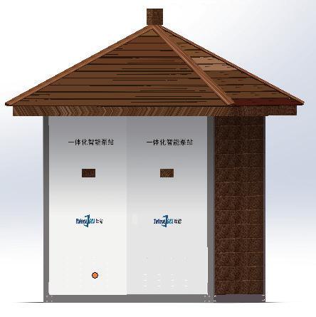 智能一体化泵站(可移动)